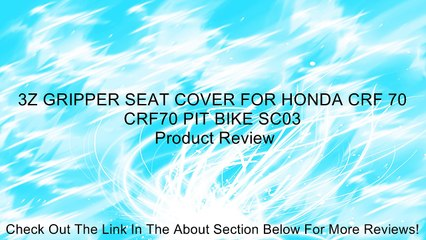 Phenomenal 3Z Gripper Seat Cover For Honda Crf 70 Crf70 Pit Bike Sc03 Review Creativecarmelina Interior Chair Design Creativecarmelinacom