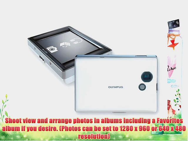 Olympus m:robe MR-500i Digital Music Player with Digital Camera