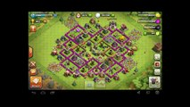Clash Of Clans - 200 Barbarians  Attack - Epic Fail - Dont even Try it !!