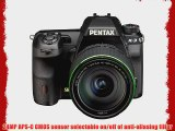 Pentax K-3 lens kit w/ 18-135mm WR 24MP SLR Camera with 3.2-Inch TFT LCD and 18-135mm WR f