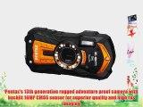 Pentax Optio WG-2 GPS Orange Adventure Series 16 MP Waterproof Digital Camera with 5 X Optical