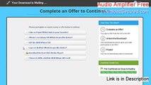 Audio Amplifier Free Key Gen [Instant Download]