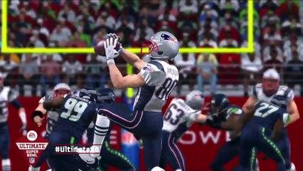 Super Bowl Predictions  Seattle Seahawks vs New England Patriots in 2015 Super Bowl de Madden NFL 15