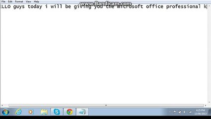 Microsoft Office 2010 Professional Product Key