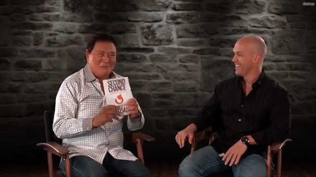 Rich Dad's Robert Kiyosaki Talks Second Chance with Matt Theriault