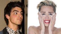 Miley Cyrus Pizza DISS: Joe Jonas MOCKS Miley Cyrus