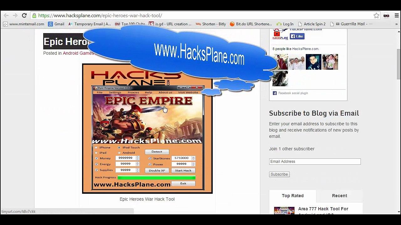 Epic Heroes War Hack Tool