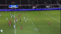 TOP14 - Toulon-Bayonne: Essai Martin Bustos Moyano (BAY) - J17 - Saison 2014/2015