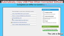 Automatically Copy USB Files When Connected Software Keygen - automatically copy usb files when connected software crack 2015