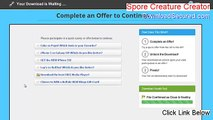 Spore Creature Creator Full - spore creature creator demo (2015)