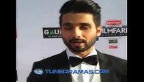 Shahid Kapoor on Red Carpet of 60th Britannia Filmfare Awards 2015