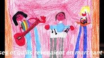 JM France Soleo avec dessins et commentaires enfants
