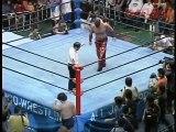 Genichiro Tenryu (c) vs Great Muta, AJPW Triple Crown Match