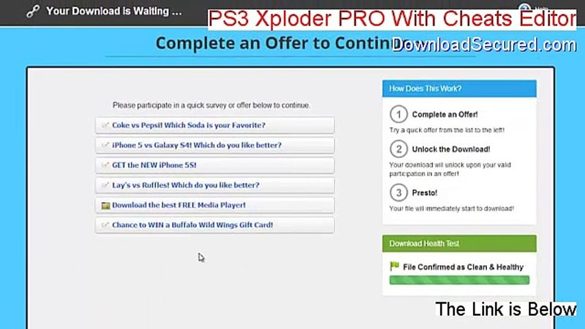 PS3 Xploder PRO With Cheats Editor Cracked (Free of Risk Download)