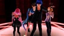 MMD Halloween Miku,Kaito,Gakupo,Len,Rin,Luka,Gumi,Neru,Teto,Haku   Bad ~ End ~ Night