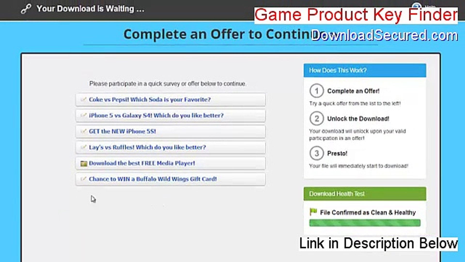 Game Product Key Finder Full (Download Now 2015)
