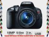 Canon EOS Rebel T5i DSLR Camera with 18-55m Bundle