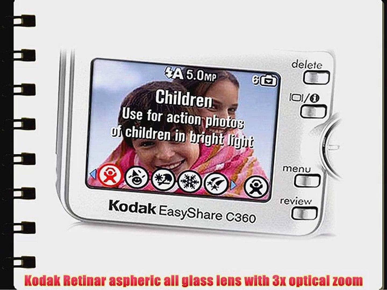 Kodak Easyshare C360 5 MP Digital Camera with 3xOptical Zoom - video  dailymotion