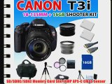 Canon EOS Rebel T3i 600d Digital SLR Camera with Ef-s 18-135mm F/3.5-5.6 Is Lens 2x Extra Lenses