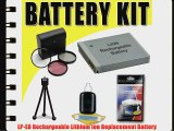 LP-E8 Lithium Ion Replacement Battery for Canon EOS Rebel T2i T3i Digital SLR Camera DavisMAX