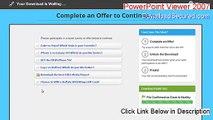PowerPoint Viewer 2007 Free Download (powerpoint viewer 2007 gratuit)