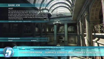 Battlefield Hardline Beta 30 Minute - Bank Job de Battlefield : Hardline