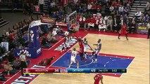James Harden Injury - Rockets vs Pistons - January 31, 2015 - NBA Season 2014-15