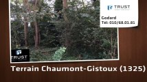 A vendre - Terrain - Chaumont-Gistoux (1325)