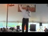 Colin Paul doing You'll Never Walk Alone at Elvis Week 2006 video