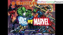 Spider-Man VS Symbiote Punisher In A DC VS Marvel MUGEN Edition Match / Battle / Fight