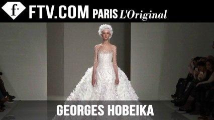 Georges Hobeika Show Spring/Summer 2015 | Paris Couture Fashion Week | FashionTV