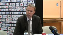Basket : réactions des entraîneurs après JDA Dijon / Strasbourg (31/01/2015)