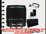 Pentax SMC DA 18-135mm F/3.5-5.6 ED AL (IF) DC WR Lens   62mm 3 Piece Filter Kit   Deluxe 3pc
