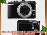OLYMPUS 262855 12.3 Megapixel E-PL1 Pen Camera (Black camera body)