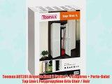 Toomax ART281 Armoire Haut 2 Portes   4 Etag?res   Porte-Balai Top Line L Polypropyl?ne Gris