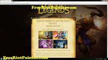Free Riot Points | League of Legends Riot Points | Free Riot Codes | January, 2015