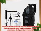 Lowepro SlingShot 202 AW   Accessory Kit for Nikon D3/D3S/D3X/D40/D50/D60/D70S/D80/D90/D700/D300/D300S/D7000/D90/D5100/D5000/D3100/D3000/FM10/F100
