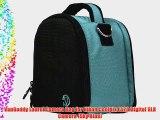 VanGoddy Laurel Camera Bag for Nikon Coolpix L320 Digital SLR Camera (Sky Blue)