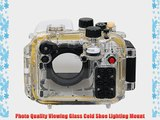 Polaroid SLR Dive Rated Waterproof Underwater Housing Case For The Canon G15 Digital Camera