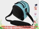 (Sky Blue) Laurel VG Camera Bag w/ Removable Shoulder Strap for Nikon D7100 / Nikon Coolpix