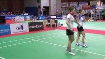 Championnats de France 2015 - demi finale Double Dames (Aire sur La Lys)