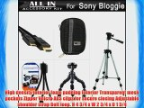 All In Accessories Bundle Kit For Sony Bloggie Live (MHS-TS55) Sony Bloggie Sport HD ( MHS-TS22