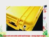 1400 Pelican Case with Foam Yellow