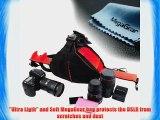 MegaGear DSLR Camera Black Case Bag for Canon EOS 60D Canon EOS 1200D 6D T3i T4i T5i 7D 700D