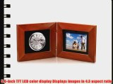 Coby DP-5588 5.6-Inch Clock and Digital Photo Frame with MP3 Player (Maple)
