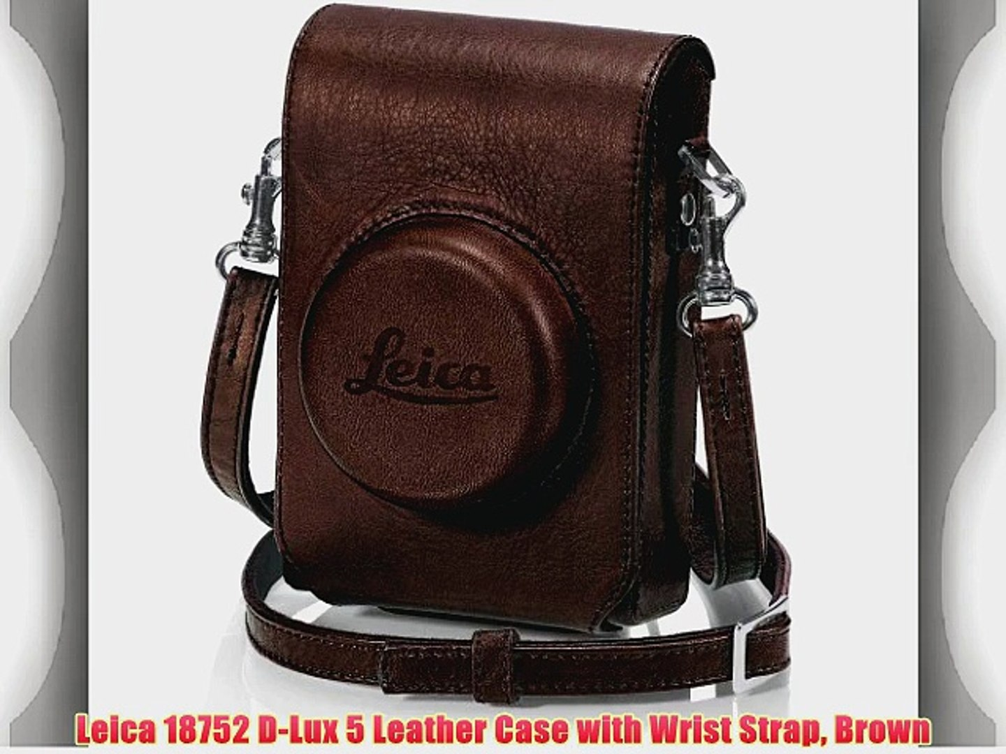 GARIZ Black Label leather case Leica M BL-LCMBR Brown