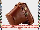 Fotga Vintage Style Protective Leather Camera Case Bag for Olympus PEN E-PL3 EPL3 EPM1 E-PM1