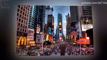 Top 10 Most Visited Cities in 2014