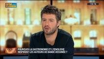 La cuisine inspire les auteurs de bande dessinée: Mathieu Burniat et Boris Guilloteau (2/5) - 01/02