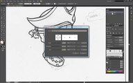 Adobe Illustrator How to Draw a Vector Pirate Skull